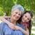 abuela · hija · nieta · parque · mujer · nino - foto stock © wavebreak_media
