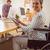 criador · casual · empresário · cadeira · de · rodas · ver · escritório - foto stock © wavebreak_media