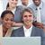 positief · internationale · bedrijfsleven · mensen · met · behulp · van · laptop · kantoor · business - stockfoto © wavebreak_media