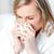 ziek · vrouw · vergadering · sofa · geneeskunde - stockfoto © wavebreak_media