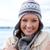 gyönyörű · fiatal · nő · hideg · visel · kalap · modell - stock fotó © wavebreak_media