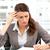 geconcentreerde · zakenvrouw · werken · laptop · kantoor - stockfoto © wavebreak_media