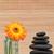 pomarańczowy · szkła · obok · czarny · kamienie - zdjęcia stock © wavebreak_media