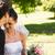 giovani · wedding · Coppia · bacio · esterna - foto d'archivio © wavebreak_media