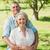 loving and happy mature couple at park stock photo © wavebreak_media