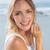 великолепный · счастливым · блондинка · позируют · пляж - Сток-фото © wavebreak_media