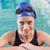 fit swimmer in the pool smiling at camera stock photo © wavebreak_media