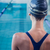 mooie · jonge · vrouw · permanente · zwembad · vrouw · vrouwen - stockfoto © wavebreak_media