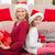 ребенка · матери · Рождества · подарки · белый · семьи - Сток-фото © wavebreak_media