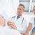orvos · oxigénmaszk · kórház · nő · férfi · orvosi - stock fotó © wavebreak_media
