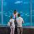 boldog · család · néz · tank · akvárium · férfi · hal - stock fotó © wavebreak_media
