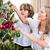 детей · подвесной · Рождества · украшения · матери · Жилье - Сток-фото © wavebreak_media