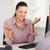 mujer · de · negocios · cliente · oficina · trabajo · belleza - foto stock © wavebreak_media
