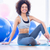 Full length of a fit woman on exercise mat in fitness studio stock photo © wavebreak_media