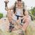 kirándulás · férfi · ül · hegy · terep · portré - stock fotó © wavebreak_media