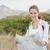 caminante · retrato · femenino · senderismo · mujer · feliz - foto stock © wavebreak_media