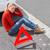 kırmızı · üçgen · beyaz · inşaat · imzalamak - stok fotoğraf © wavebreak_media
