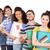 görüntü · gülen · grup · Öğrenciler - stok fotoğraf © wavebreak_media