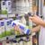 élelmiszerbolt · vásárlás · nő · tart · mobiltelefon · áruház - stock fotó © wavebreak_media