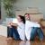 пару · расслабляющая · покупке · дома · сидят - Сток-фото © wavebreak_media