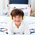 улыбаясь · мало · мальчика · прослушивании · музыку · наушники - Сток-фото © wavebreak_media