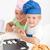 adorável · irmãos · juntos · cozinha - foto stock © wavebreak_media