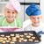 feliz · pequeno · irmão · irmã · biscoitos · pronto - foto stock © wavebreak_media