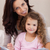 madre · hija · lectura · libro · feliz · cute - foto stock © wavebreak_media