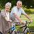 idős · pár · bicikli · vidék · oldalnézet · portré · nő - stock fotó © wavebreak_media