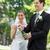 noiva · noivo · abertura · champanhe · casamento · homem - foto stock © wavebreak_media