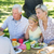 familia · picnic · ninos · hombre · feliz · nino - foto stock © wavebreak_media