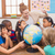 учитель · география · урок · классе · девушки - Сток-фото © wavebreak_media