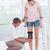 médico · joelho · paciente · homem · criança - foto stock © wavebreak_media