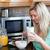 charmant · vrouw · gezonde · ontbijt · keuken · home - stockfoto © wavebreak_media