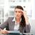 ernstig · vrouwelijke · uitvoerende · bevinding · ideeën · werken - stockfoto © wavebreak_media