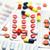 color · pastillas · tableta · médicos · salud · fondo - foto stock © wavebreak_media