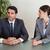 fókuszált · üzletemberek · tárgyal · tárgyalóterem · megbeszélés · üzletember - stock fotó © wavebreak_media