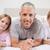 отец · позируют · спальня · семьи · улыбка - Сток-фото © wavebreak_media