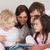 семьи · чтение · книга · спальня · домой · девочек - Сток-фото © wavebreak_media