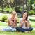 női · barátok · borospoharak · park · szépség · nyár - stock fotó © wavebreak_media