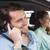 женщину · вождения · автомобилей · мобильного · телефона · европейский · телефон - Сток-фото © wavebreak_media