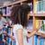 Mann · Auswahl · Buch · Bildung · Bibliothek · College - stock foto © wavebreak_media