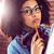attractive focused hipster taking notes stock photo © wavebreak_media