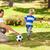 hijo · de · padre · partido · de · fútbol · familia · hierba · hombre · naturaleza - foto stock © wavebreak_media