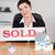 kobiet · sprzedany · płyta · domów · biuro - zdjęcia stock © wavebreak_media