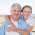 casual couple having fun by the sea stock photo © wavebreak_media