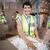 Warehouse workers in yellow vests preparing a shipment stock photo © wavebreak_media