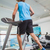 rear view of man running on treadmill in gym stock photo © wavebreak_media