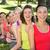 fitness group doing yoga in park stock photo © wavebreak_media