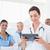 doktor · tablet · tıp · yalıtılmış · beyaz - stok fotoğraf © wavebreak_media
